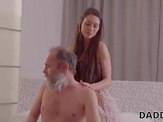 Elder shag seducing a youthfull slag