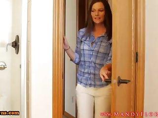 STEPMOMLOVER.COM: female parent training hump to her sonnie four