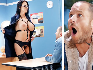 Erotic crammer hardcore fucks schoolboy at one's disposal tutor