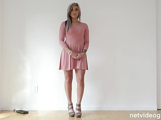 Bubble Posterior 21 Year Old Seduced During Audition