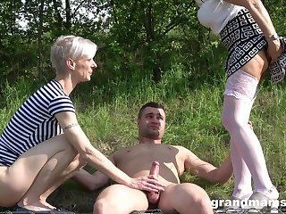 outside threesome in dramatize expunge wood is amazing adventure for amazing kirmess