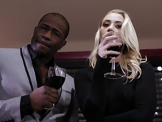 Young blonde Sierra Nicole has interracial sex with bbc dude
