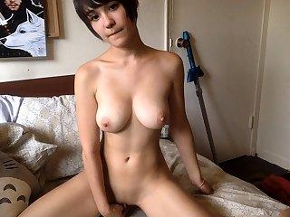 Japanese wiith chubby heart of hearts