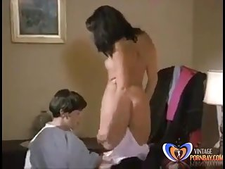 Old lady Fucked Alone Vintage Porn