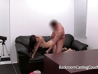 Hot Emo Teen Ass Fucked and Cum Facial Casting