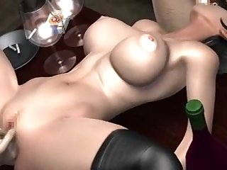 (mostly itty-bitty sound) new umemaro3D imitate succubus - ANALDIN