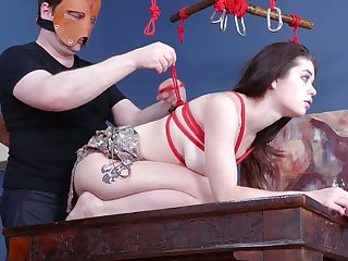 Kinky pervert examines anal hole and deep throat be incumbent on taking hot chick