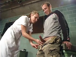 Strict Mistress Concert is fucking anal hole of submissive dude