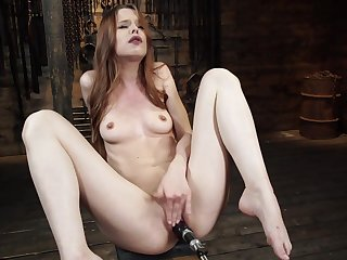 Jillian Janson in Jillian Janson: Low-spirited Young Slattern is Machine Fucked be worthwhile for the First Time - FuckingMachines