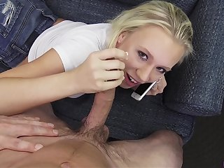 Cheating floozy - cock sucking video
