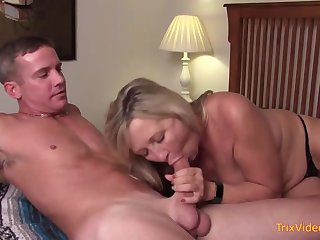 Principal mother increased by her mischievous step- sonny are pulverizing in the bedroom, in the future in a while