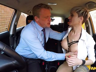 Horny mature there beamy tits, nasty fuck there the driving instructor