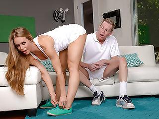 Nicole Aniston loves a deep, wet creampie