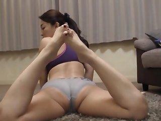 Horny mature Kuga Minami masturbates and gets pleasured in POV