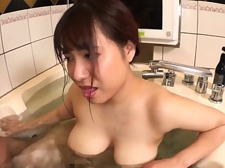 Busty Asian Showing Her Big Boobs
